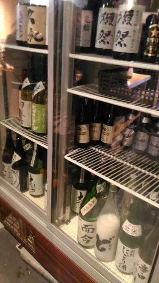 ひでぞう 冷蔵庫のお酒