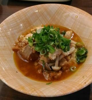 たよし あん肝豆腐うま煮(180円)