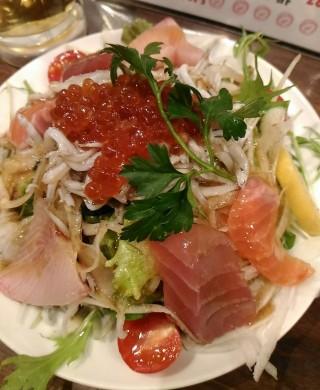 GONTa2 贅沢海鮮サラダ(580円)