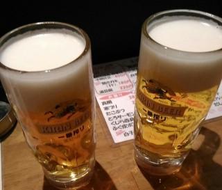 Gonta 生ビール(190円)