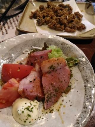 たよし 合鴨ローストマト(150円)