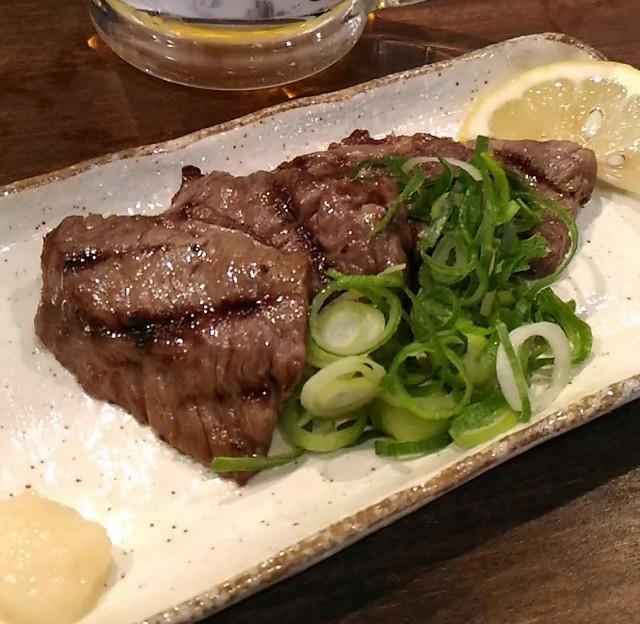 一周年記念で生ビールがお得、和牛の特上ハラミが旨かった「徳田酒店 御肉 第三ビル地下一階」(大阪梅田)