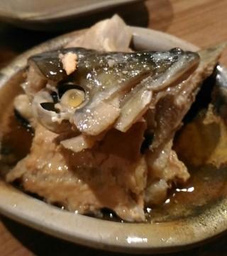 徳田酒店第3ビルB2店 魚のあら煮(290円)