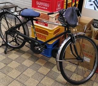 稲田酒店 笹井一 レトロの自転車