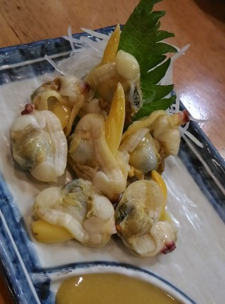 得一 バカ貝酢味噌(180円)