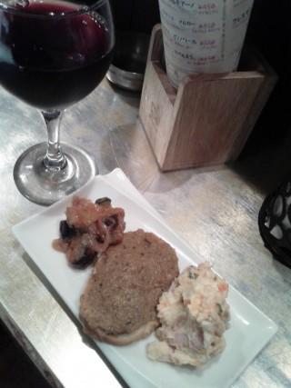 ワンコインセットのワインお摘み3品