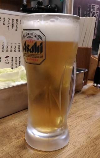 串泰 生ビール(280円)