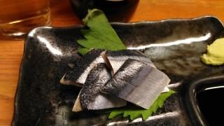 銀座家 さんまキズシ(200円)