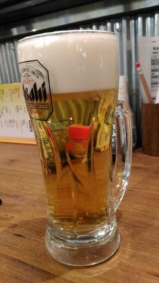 なじみ野 生ビール(280円)