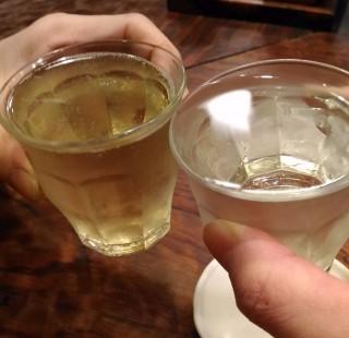 ひらやま 泡ワイン(390円)泡ワイン(390円)