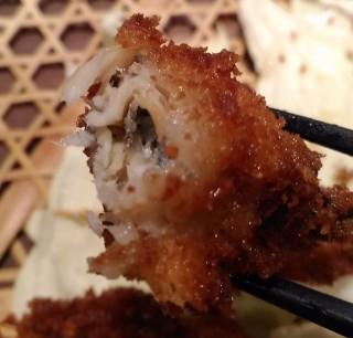 かこも 串カツ(キビナゴ)