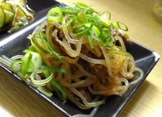 こまちゃん ワンコインセットの牛肉と糸こん(糸こんと牛のすき焼き風煮付)